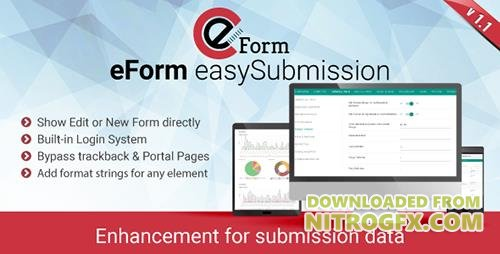 CodeCanyon - eForm easySubmission v1.1.0 - Direct Form Edit & Extended Format String - 19826798