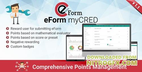 CodeCanyon - myCRED Integration for eForm v1.1.0 - 16069012