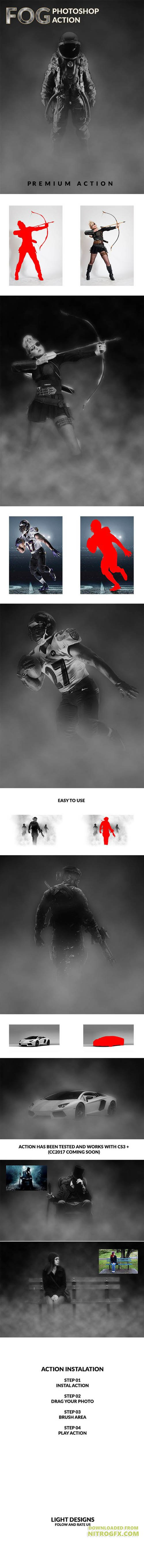 GraphicRiver - Fog - Photoshop Action 20368362