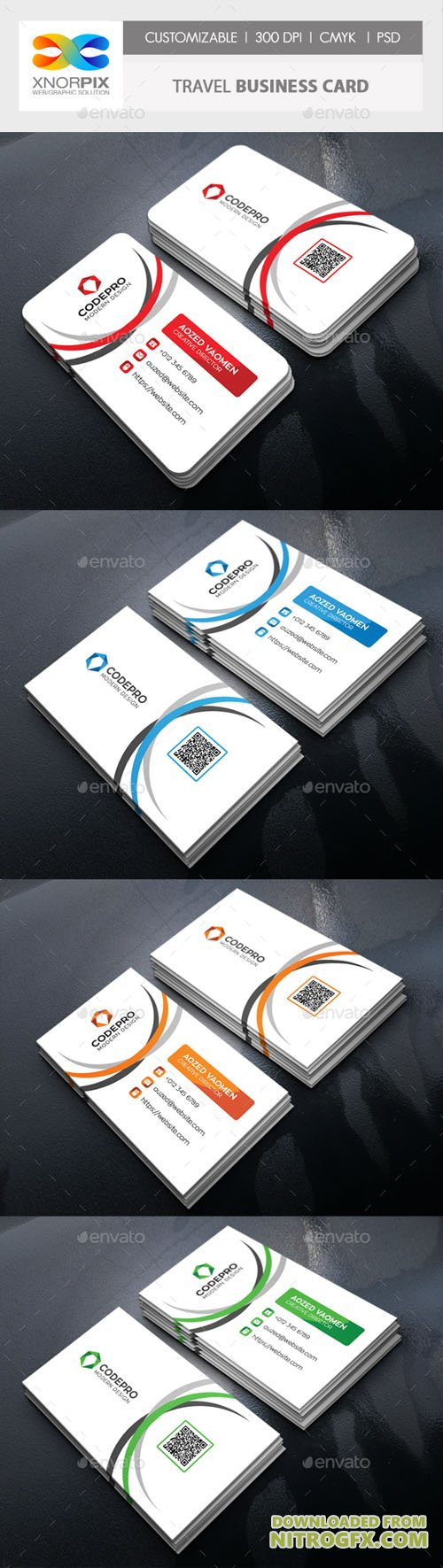 GraphicRiver - Travel Business Card 20446217