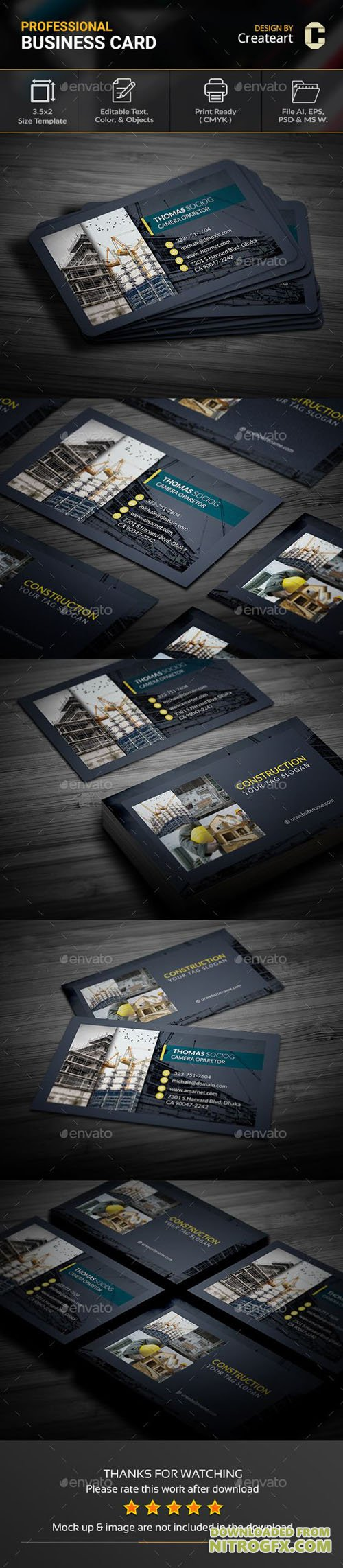 GraphicRiver - Business Card 20446377