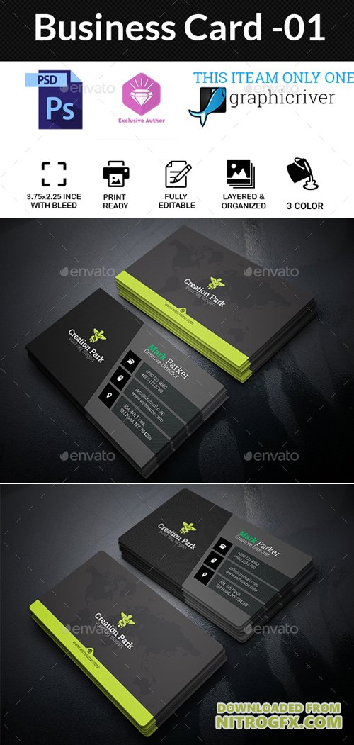 GraphicRiver - Business Card-01 20446838