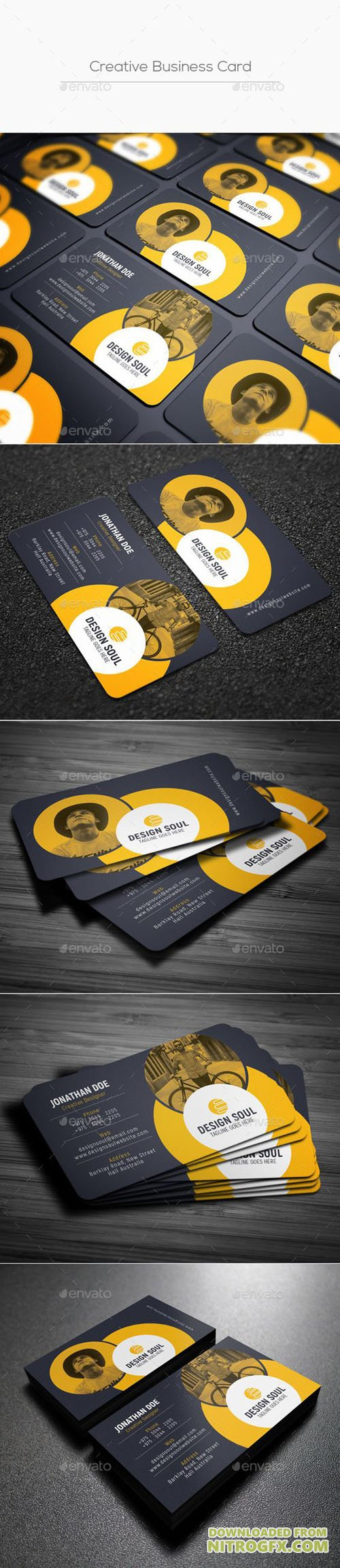 GraphicRiver - Creative Business Card 20447467