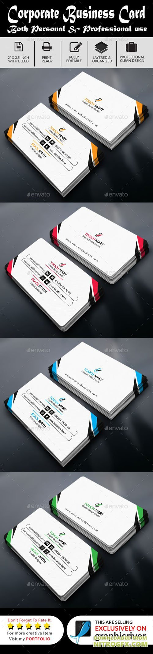 GraphicRiver - Simple Business Card 20447497