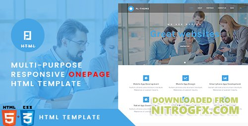 ThemeForest - Fl v1.0 - Multi-Purpose Responsive OnePage HTML Template - 20339475