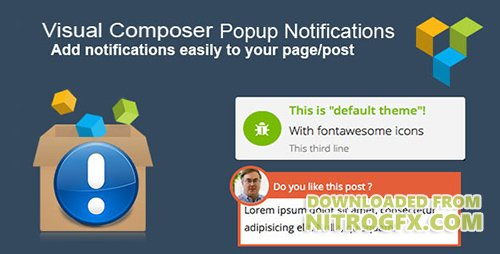 CodeCanyon - Visual Composer Popup Notifications v2.0 - 8215036