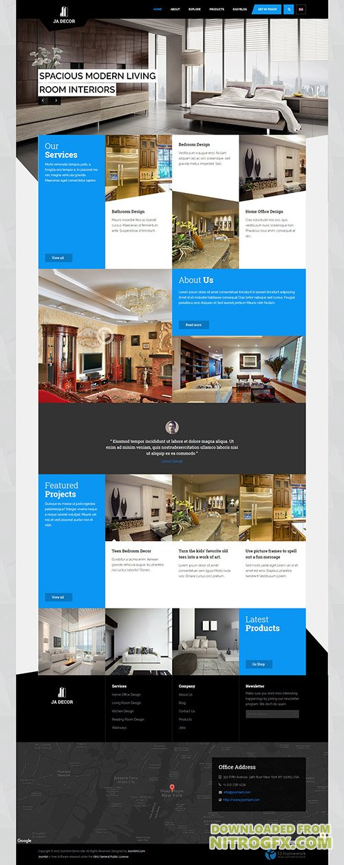 JoomlArt - JA Decor v1.1.8 - Responsive Joomla template for ecommerce