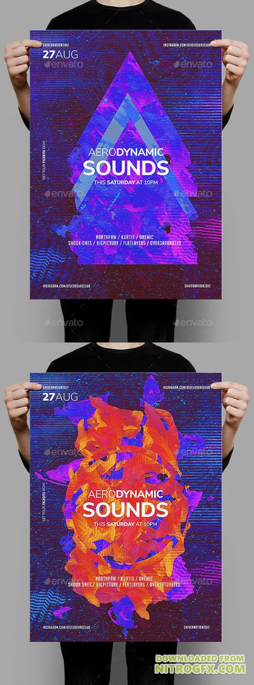 GR - Aerodynamic Sounds Poster Template 20456077