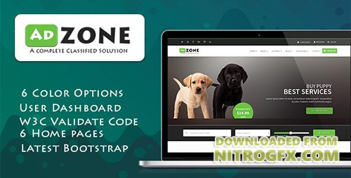ThemeForest - AdZone v1.1 - A Complete Classified Solution HTML Template + RTL - 19070501