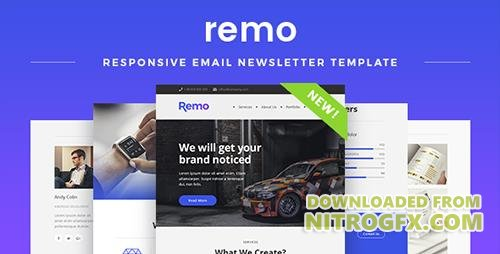 ThemeForest - Remo v1.0 - Responsive Email Newsletter Template - 19882672
