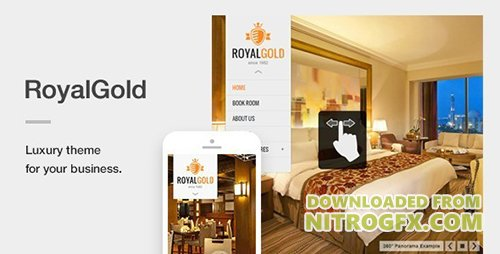 ThemeForest - RoyalGold v1.4.3 - A Luxury & Responsive Hotel or Resort Theme For WordPress - 5171472