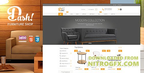 ThemeForest - Dash v2.1 - Handmade Furniture Marketplace Theme - 12650747