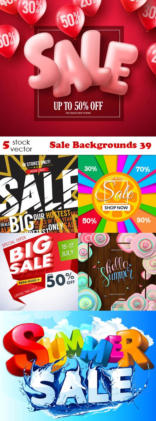 Vectors - Sale Backgrounds 39