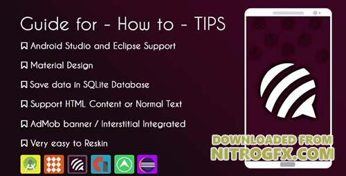 CodeCanyon - Guide for - How to - Tips Application v1.0 - 19808922