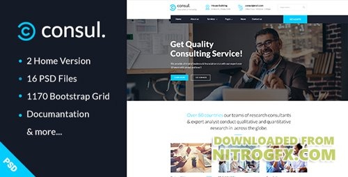 Consul business training psd template 20183799 for Consul templates