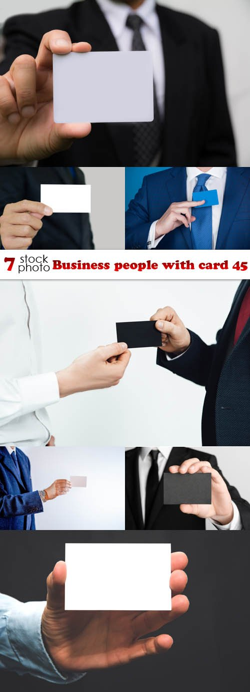 Photos - Business people with card 45