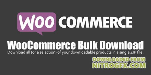 WooCommerce - Bulk Download v1.2.5