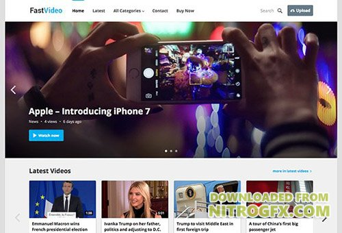 FastVideo v1.1 - WordPress Video Theme - CM 1492829