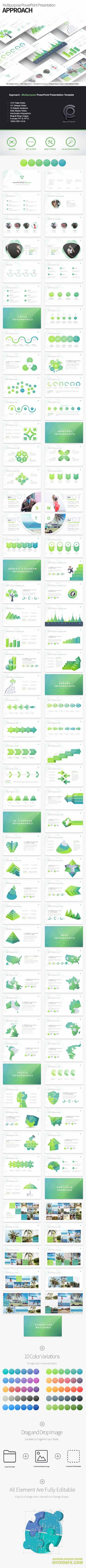 Approach - Multipurpose PowerPoint Presentation Template 20415265