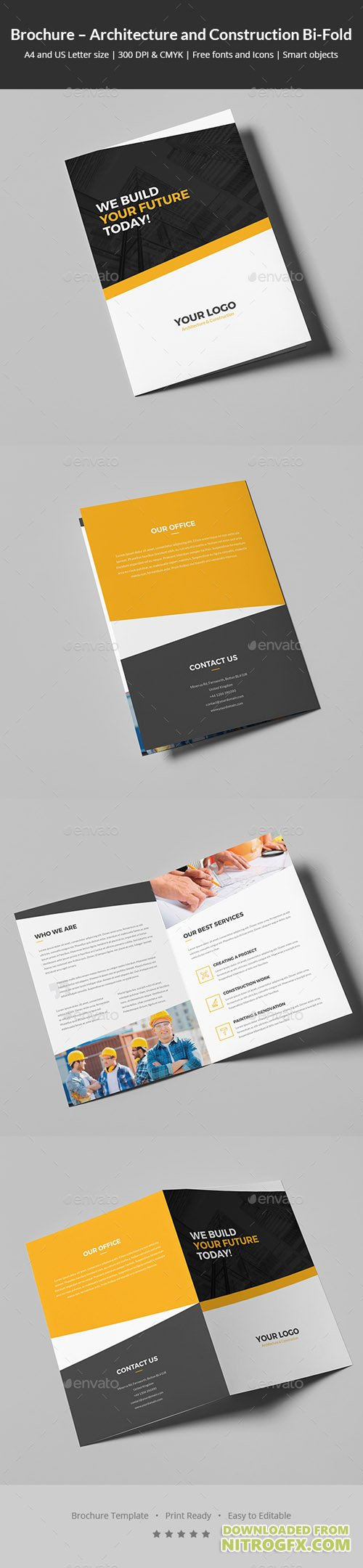 Brochure – Architecture and Construction Bi-Fold 20474189