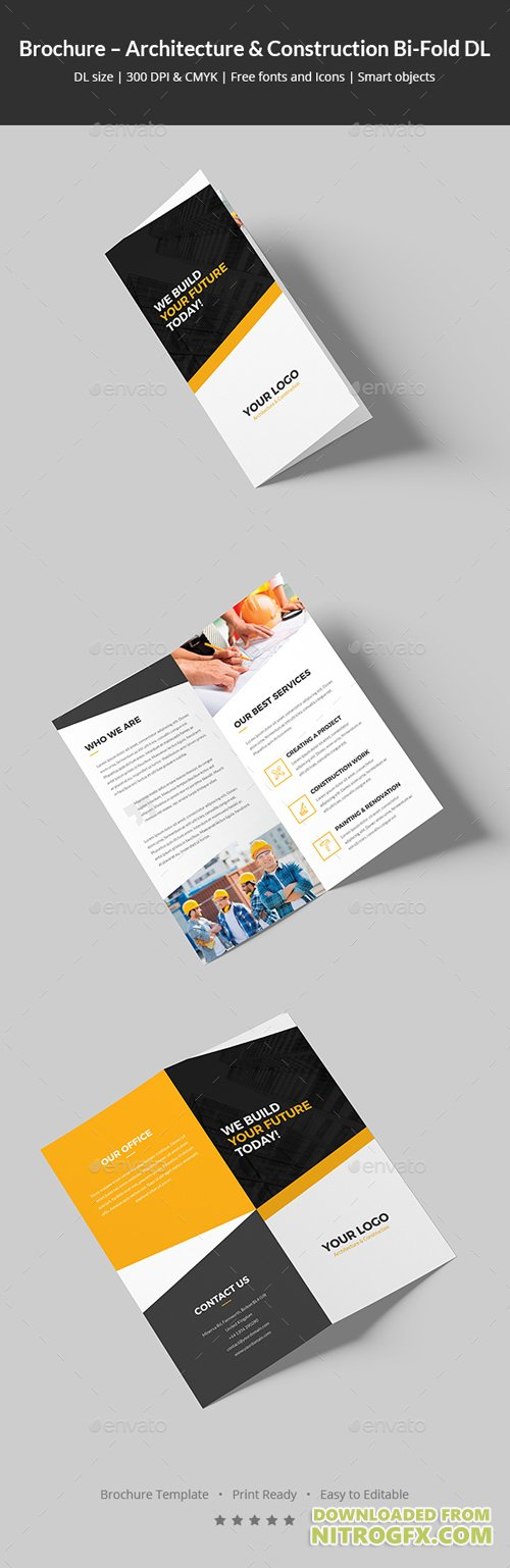 Brochure – Architecture and Construction Bi-Fold DL 20474393