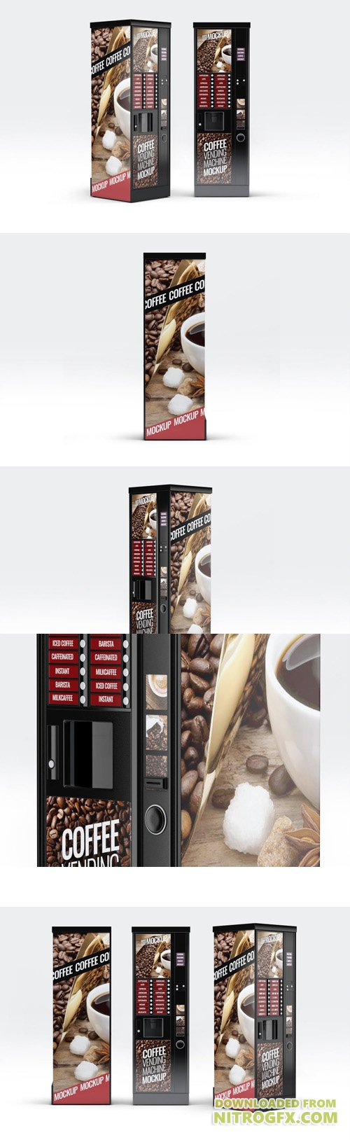 Coffee Vending Machine Mock-Up