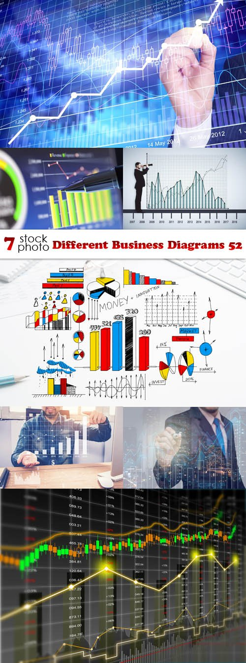 Photos - Different Business Diagrams 52
