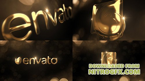 Elegant Gold Logo Reveal - Project for After Effects (Videohive)