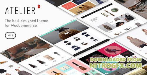 ThemeForest - Atelier v2.4.43 - Creative Multi-Purpose eCommerce Theme - 11118909