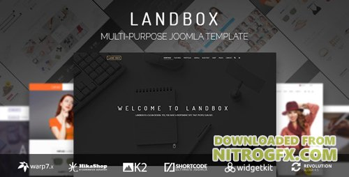 ThemeForest - Landbox v1.2.5 - Multipurpose Joomla Template - 15146276