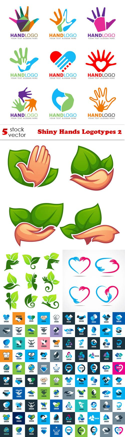 Vectors - Shiny Hands Logotypes 2