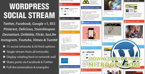 CodeCanyon - WordPress Social Stream v1.6.2 - 2201708