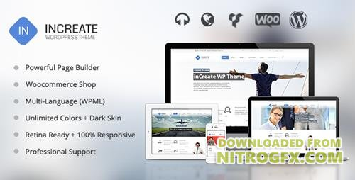 ThemeForest - inCreate v1.2.1 - Responsive MultiPurpose WordPress Theme - 6925109