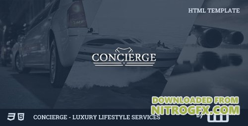 ThemeForest - Concierge - Luxury Lifestyle Services HTML (Update: 4 March 15) - 8818342