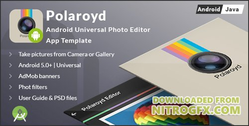 CodeCanyon - Polaroyd - Android Universal Photo App Template (Update: 13 January 17) - 17160433