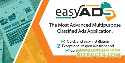 CodeCanyon - EasyAds v1.0.2 - Complex Classified Ads Application - 20167340