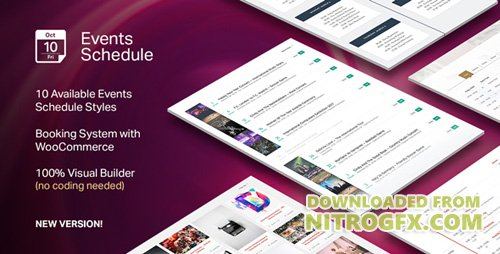 CodeCanyon - Events Schedule v2.0.5.6 - WordPress Plugin - 14907462