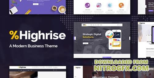 ThemeForest - Highrise v1.1.1 - A Theme for Modern Businesses, Corporations, and Consulting Companies - 19264297