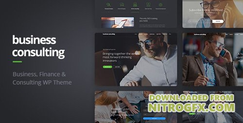 ThemeForest - Business Consulting v1.1.0 - Coaching, Business Training & Consulting WordPress Theme - 18768472
