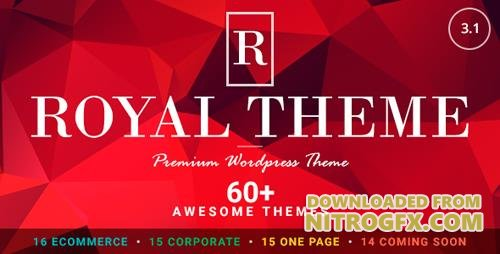 ThemeForest - Royal v3.1 - Multi-Purpose WordPress Theme - 8611976 - NULLED