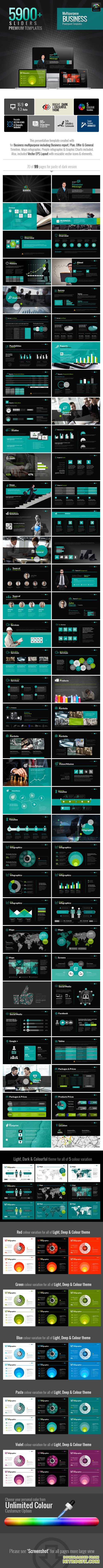 MultiEco Business Template 6436064