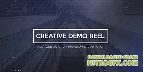 Creative Demo Reel - Project for After Effects (Videohive)