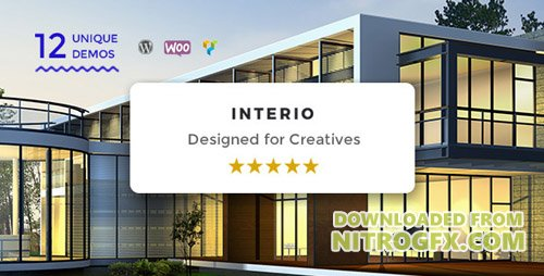ThemeForest - Interio v1.2 - WordPress Architecture Theme - 18482697