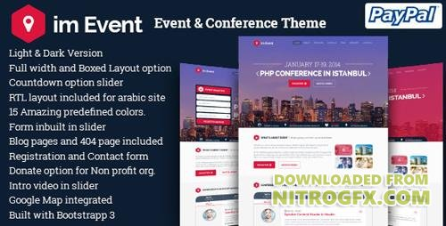 ThemeForest - im Event v3.1.4 - Event & Conference WordPress Theme - 9533576