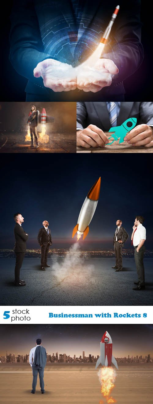 Photos - Businessman with Rockets 8