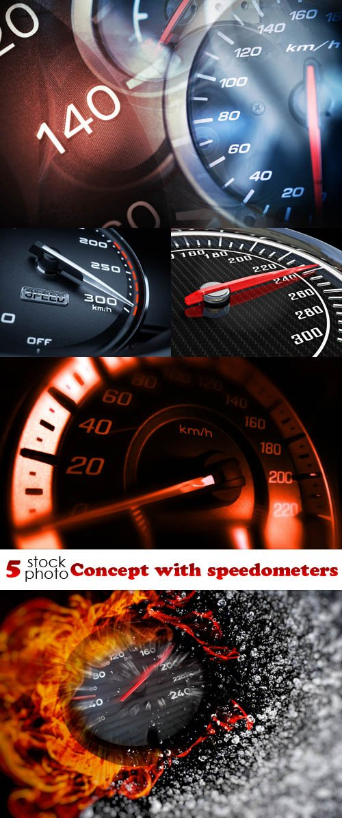 Photos - Concept with speedometers