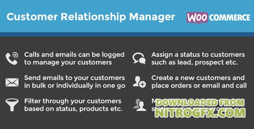 CodeCanyon - WooCommerce Customer Relationship Manager v3.3.3 - 5712695