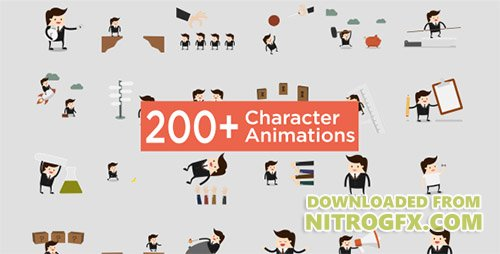 Character Animation Pack - Project for After Effects (Videohive)