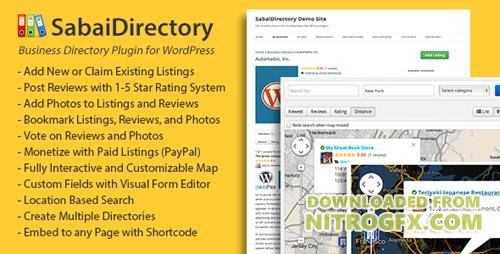CodeCanyon - Sabai Directory v1.3.44 - plugin for WordPress - 4505485