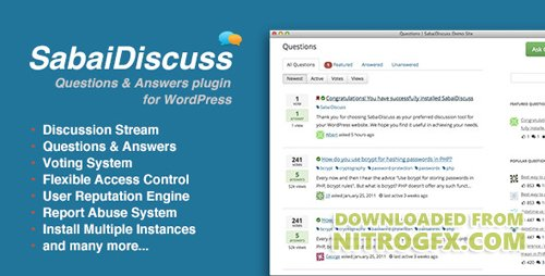 CodeCanyon - Sabai Discuss v1.3.44 - plugin for WordPress - 3455723